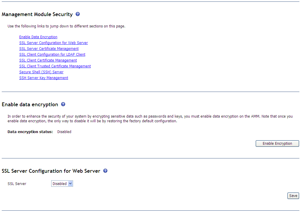 Bladecenter Web Interface Generating A Self Signed Certificate